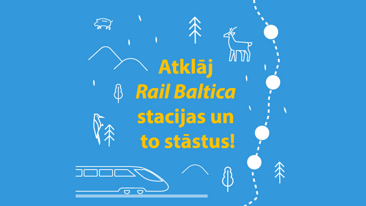 Aicina dalīties ar stāstiem par Rail Baltica topošajām pieturvietām