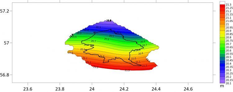 """Izstrādāts Rīgas pilsētas kvaziģeoīda modelis """"RIGA'20"""""""