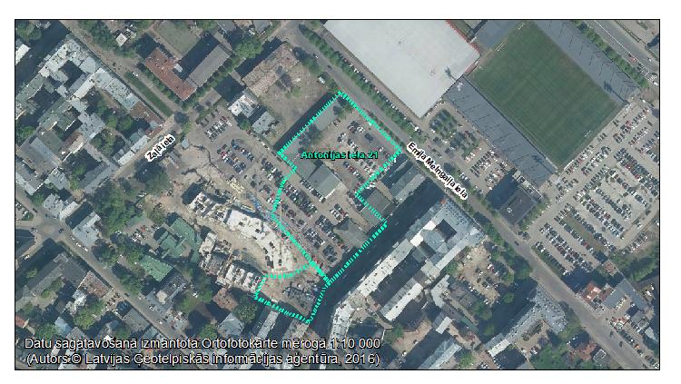 Par ietekmes uz vidi sākotnējā izvērtējuma veikšanu Antonijas ielā 17 un 21