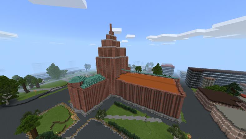 Noslēgsies skolu sacensības Minecraft virtuālajā Rīgas modelī