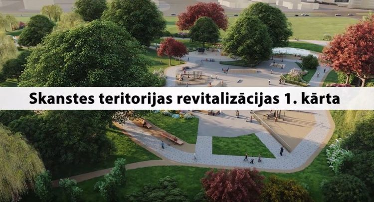 Skanste – Rīgas modernais centrs – šajā vasarā sāk iegūt telpiskas kontūras