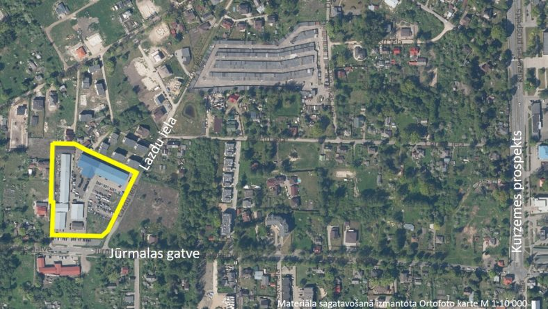 Paziņojums par zemesgabala Lazdu ielā 16D un tam piegulošās teritorijas lokālplānojuma izstrādes uzsākšanu