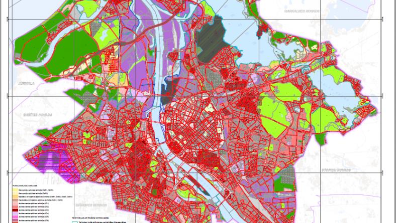 Paziņojums par Rīgas teritorijas plānojuma pilnveidotās redakcijas publisko apspriešanu un tā stratēģiskā ietekmes uz vidi novērtējuma precizētā vides pārskata sabiedrisko apspriešanu