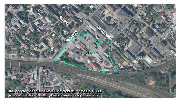 Par ietekmes uz vidi sākotnējā izvērtējuma veikšanu Valmieras ielā 2