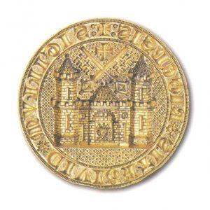 Zīmogs un zīmoga nospiedums, 1347. g.