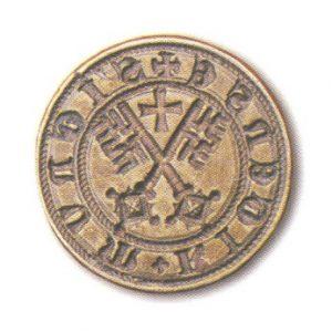 Mazais pilsētas zīmogs ar heraldisko simboliku, 1516. g.