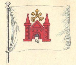 Rīgas tirdzniecības karogs, 16. gs. 60. gadi – 19. gs. 60. gadi;