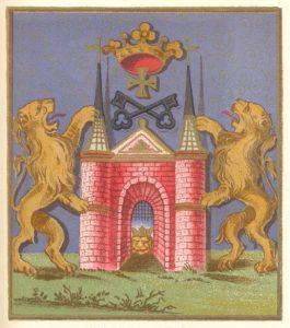 K.Mettig. Die Entwicklung des Wappens der Stadt Riga. Rigascher Almanach für das Jahr 1905.