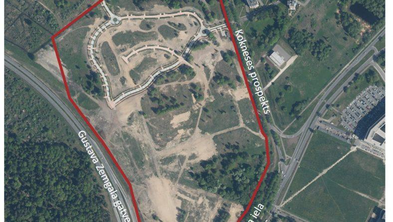 Nodos sabiedriskajai apspriešanai lokālplānojumu teritorijai starp G.Zemgala gatvi, Ķīšezera ielu un Kokneses prospektu