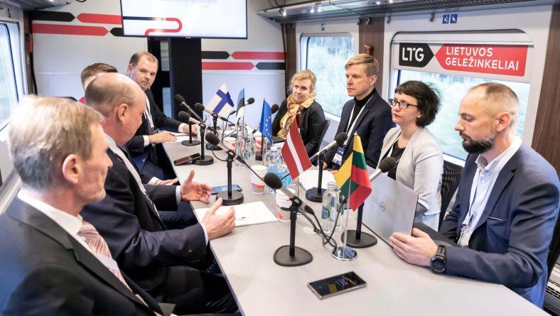 """I.Andersone: """"Rail Baltica"""" pozitīvi ietekmēs Rīgas iedzīvotājus, uzņēmējus un kultūras pārstāvjus"""