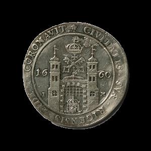 Kārļa XI 1660. gadā kaltais dālderis